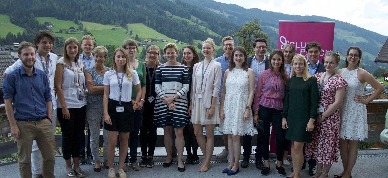 Club Alpbach Tirol English - Als Verein tragen wir Europa